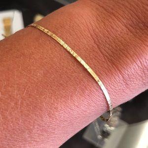 Jewelry - 14k Yellow Gold Herringbone Chain Bracelet